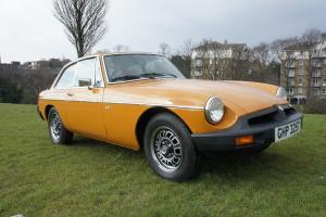 MGBGT V8 3.5 - RARE RUBBER BUMPER MODEL IN SUPERB ORIGINAL CONDITION MGB GT