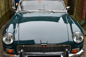 1972 MG B Roadster (tax exempt) looking for a new home.  Photo