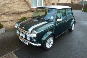 2001 ROVER MINI COOPER SPORT SALOON - METALLIC GREEN/SILVER