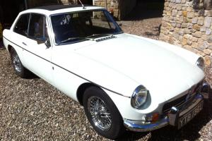 1972 MG B GT Restored With British Motor Industry Heritage Trust Certificate Photo