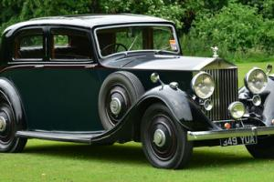 1938 Rolls Royce 25/30 Thrupp  Photo