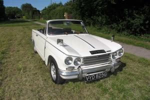Triumph Vitesse Mk2 Convertible 1969  Photo