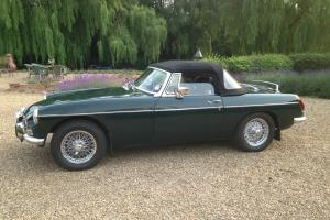 MG B Roadster Green 1972 Manual many extras, Private sale 84k miles.