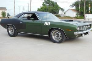 1971 Plymouth 340 Real N96 Shaker Matching Numbers Rust-free Cuda