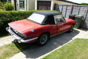 1971 Classic V8 Triumph Stag MK1 Tax  Photo
