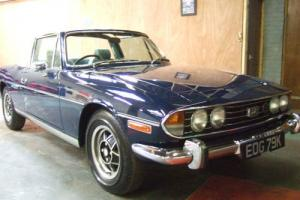 Triumph Stag 3.0 V8 1972 Stunning  Photo