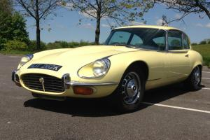 JAGUAR E-TYPE V12 SERIES 3 COUPE 1972