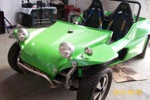 VW BEACH BUGGY IN GREEN 1600 TAX EXEMPT ON THE ROAD WITH TOW FRAME CONVERSION