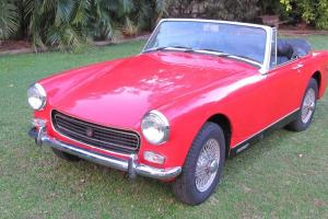 MG Midget Sports 1971 American Built IN VGC  Photo
