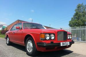 1990 BENTLEY RED TURBO R  Photo