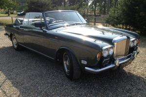 1969 Bentley T1 Mulliner Drophead VERY RARE CAR in lovely original condition