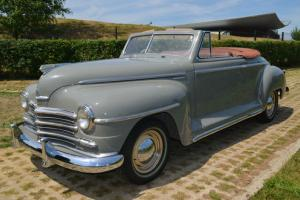 1948 Plymouth Super Deluxe Convertible Classic Car