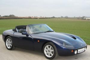 1995 TVR Griffith 500 - Montreal Blue with Grey Leather