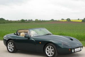 1996 n tvr griffith 500 cooper green with beige leather. Black Bedroom Furniture Sets. Home Design Ideas