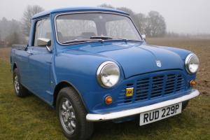 1976 Austin Mini Pick Up - fully restored and ready to show