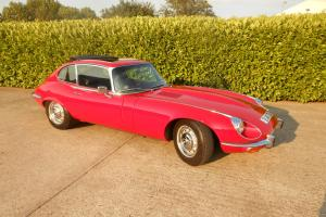 JAGUAR E TYPE V12 MANUAL, STUNNING THROUGHOUT, GENUINE 58,000 MILES