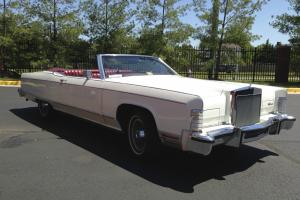 1977 Lincoln Continental Convertible (1 of 2, Very Rare, Low Mileage)