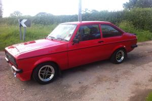 Ford Escort RS2000 Mk2 mexico flat front restored very clean New alloys red RS