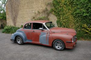 Hot rod, classic car, custom Morris Oxford