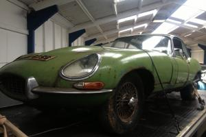 1965 E-TYPE 4.2 SERIES 1 COUPE, genuine uk car