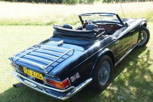 Superb early TR6. LHD Rust Free. 7k spent 2011/2012. Wire wheels, new roof  Photo