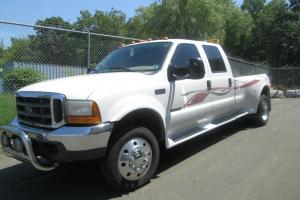 2000 FORD F550 4 DOOR CREW CAB/FONTAINE CONVERSION 7.3 TURBO DIESEL AUTOMATIC