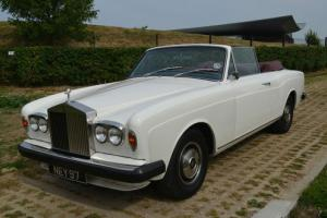 1971 Rolls Royce MPW Convertible Classic car
