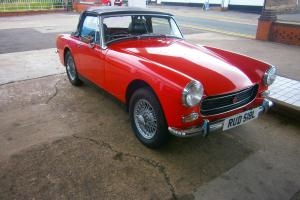 MG Midget 1275 Photo