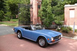 1973 Triumph TR6 - Factory Overdrive! Photo