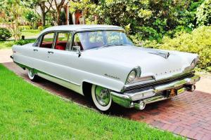 Simply stunning 1956 Lincoln Premiere loaded restored drives amazing no reserve