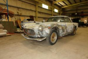1960 Maserati 3500GT. Project. Carburetored. Disc brakes.