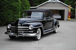 1947 Plymouth P15 Convertible. Correct and Restored