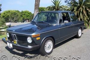 1974 2002 TII (RARE) 5 SPEED UPGRADE- SUNROOF- REBUILT ENGINE*CALIFORNIA CAR*