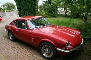 Triumph GT6 Mk3 1972 (Tax exempt) Carmine Red