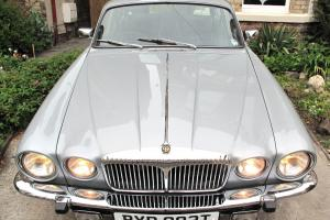1978 DAIMLER SOVEREIGN 4.2 LWB AUTO SILVER - ONLY 24,038 MILES FROM NEW