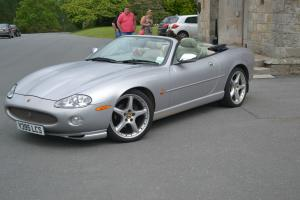 2001 JAGUAR XK8 CONVERTIBLE AUTO SILVER  Photo