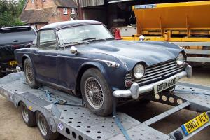 1966 Triumph TR4A Irs with Surrey Top  Photo