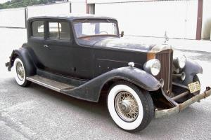 1933 Packard 1002 Victoria Coupe in Original Barn Find Condition NO RESERVE