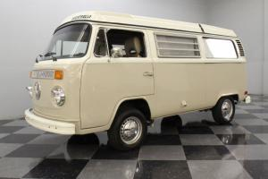 1700CC ENGINE, 3-SPEED AUTOMATIC, POP-UP ROOF, CAMPING-RELATED GEAR, VW RELIABIL