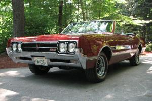 1966 oldsmobile 442 convertible ( Autumn Bronze )
