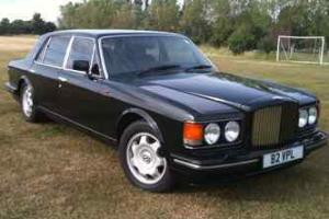 1994 BENTLEY TURBO R LWB BLACK, IMMACULATE, LOW MILEAGE, AND PRIVATE PLATE