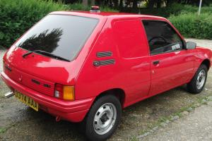 CLASSIC 1986 PEUGEOT 205 XA VAN 41.000mls EXTREMLEY GOOD CONDITION