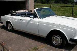 rolls royce corniche convertible  Photo