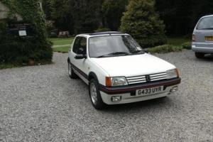Peugeot 205 GTI 1.9 immaculate condition inside and out . FSH