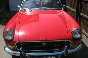 MG MGB roadster 1971 overdrive.  Photo