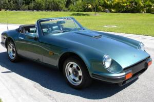RARE 1988 TVR S ROADSTER GREEN / BLACK INTERIOR, FORD V6 ENGINE 5 SPEED