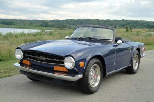 Clean Restored 1973 Triumph TR6