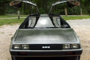 1981 DeLorean DMC-12 LOW MILES LOW VIN 318 off production line RUNS GREAT -RARE!