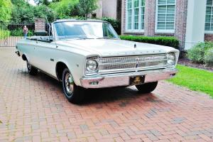 Absolutly the best in country 65 Plymouth Satellite Convertible just 7,962 miles