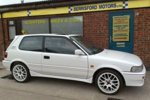 1991 Toyota Corolla 1.6 GTi 3 door,Lovely condition rust free car,white